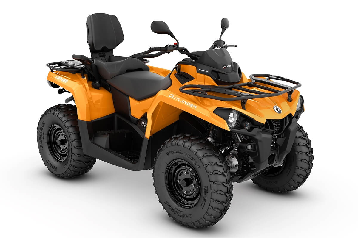 Outlander 570 Max DPS T ein ATV in Orange von Can-Am - Modelljahr 2020 - 0005NLA00