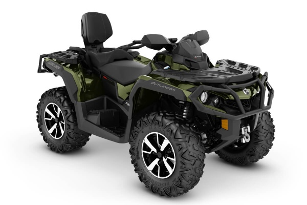 Outlander 1000R Max Limited ein ATV in Boreal Green von Can-Am - Modelljahr 2020 - 0005WLD00