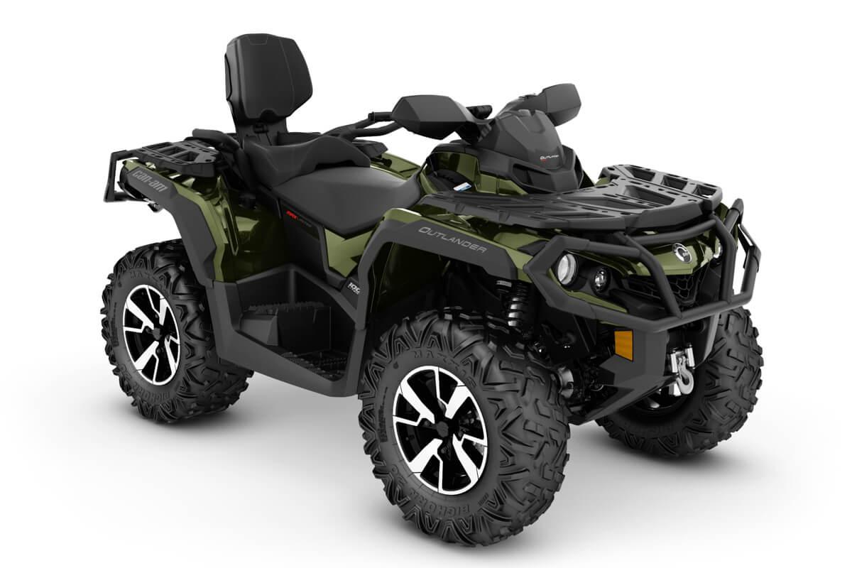 Outlander 1000R Max Limited ein ATV in Boreal Green von Can-Am - Modelljahr 2020 - 0005WLD00