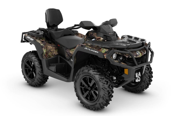 Outlander 650 Max XT ein ATV in Mossy Oak Break-up Country Camo von Can-Am - Modelljahr 2020 - 0002SLL00