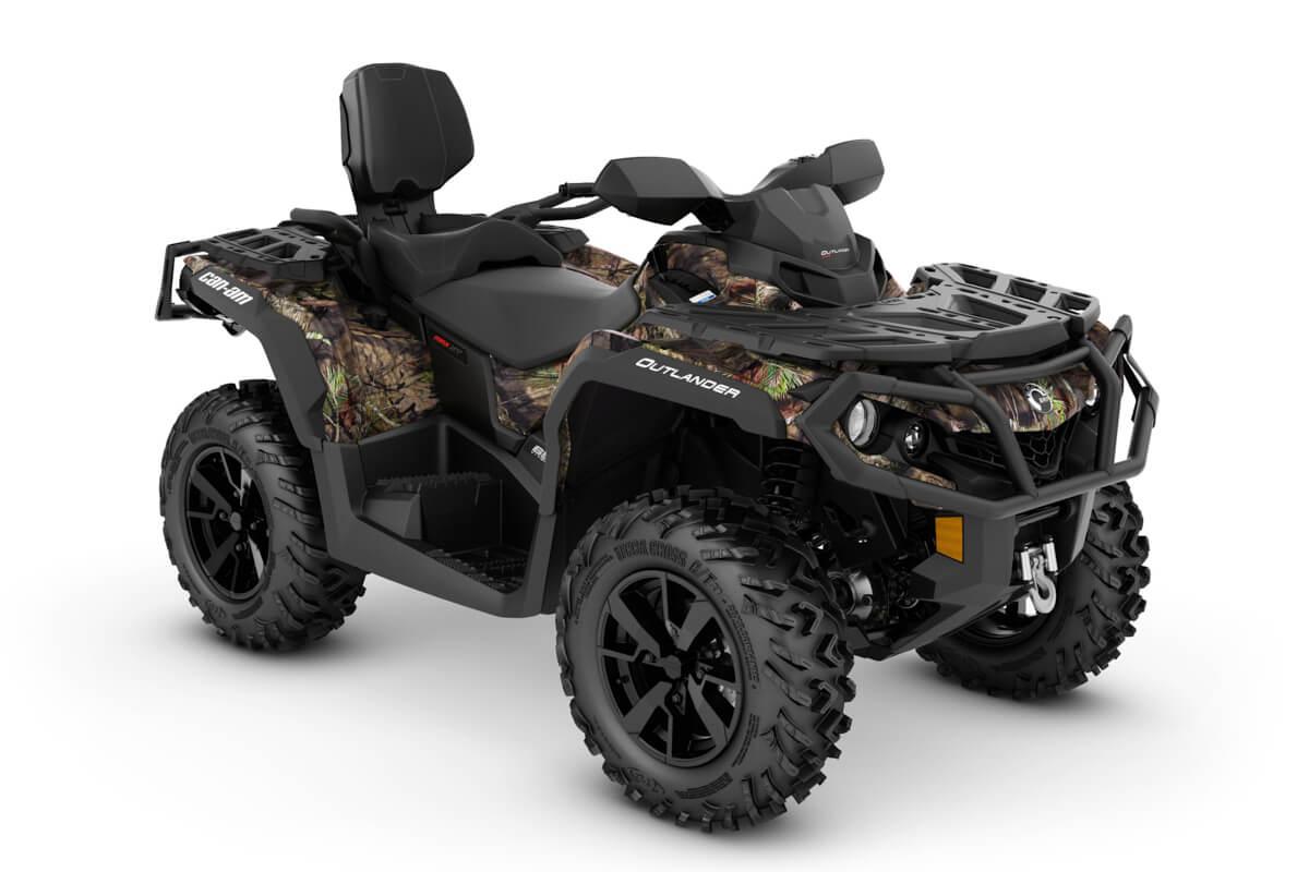 Outlander 650 Max XT ein ATV in Mossy Oak Break-up Country Camo von Can-Am - Modelljahr 2020 - 0002SLL00