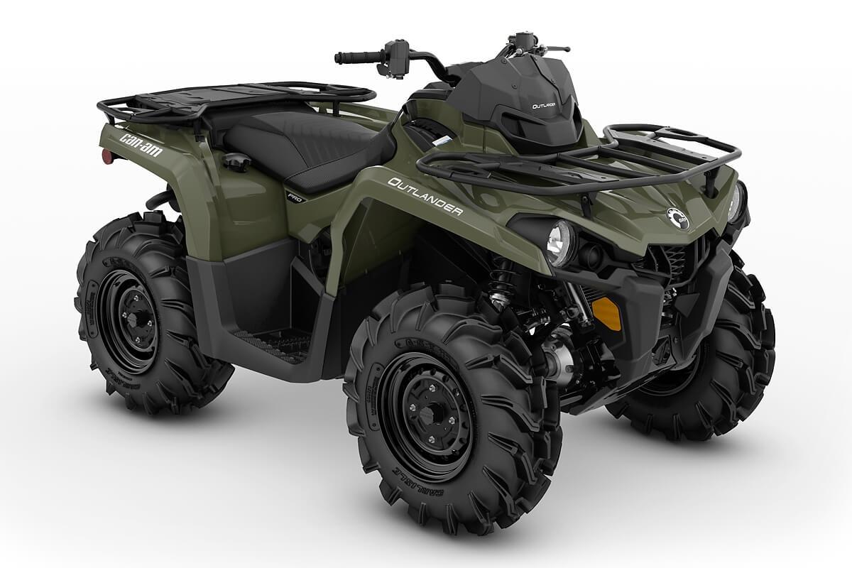 Outlander 450 PRO ein ATV in Green von Can-Am - Modelljahr 2020 - 0003NLC00