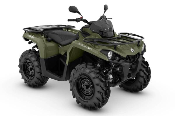 Outlander 450 PRO T ein ATV in Green von Can-Am - Modelljahr 2020 - 0003NLA00
