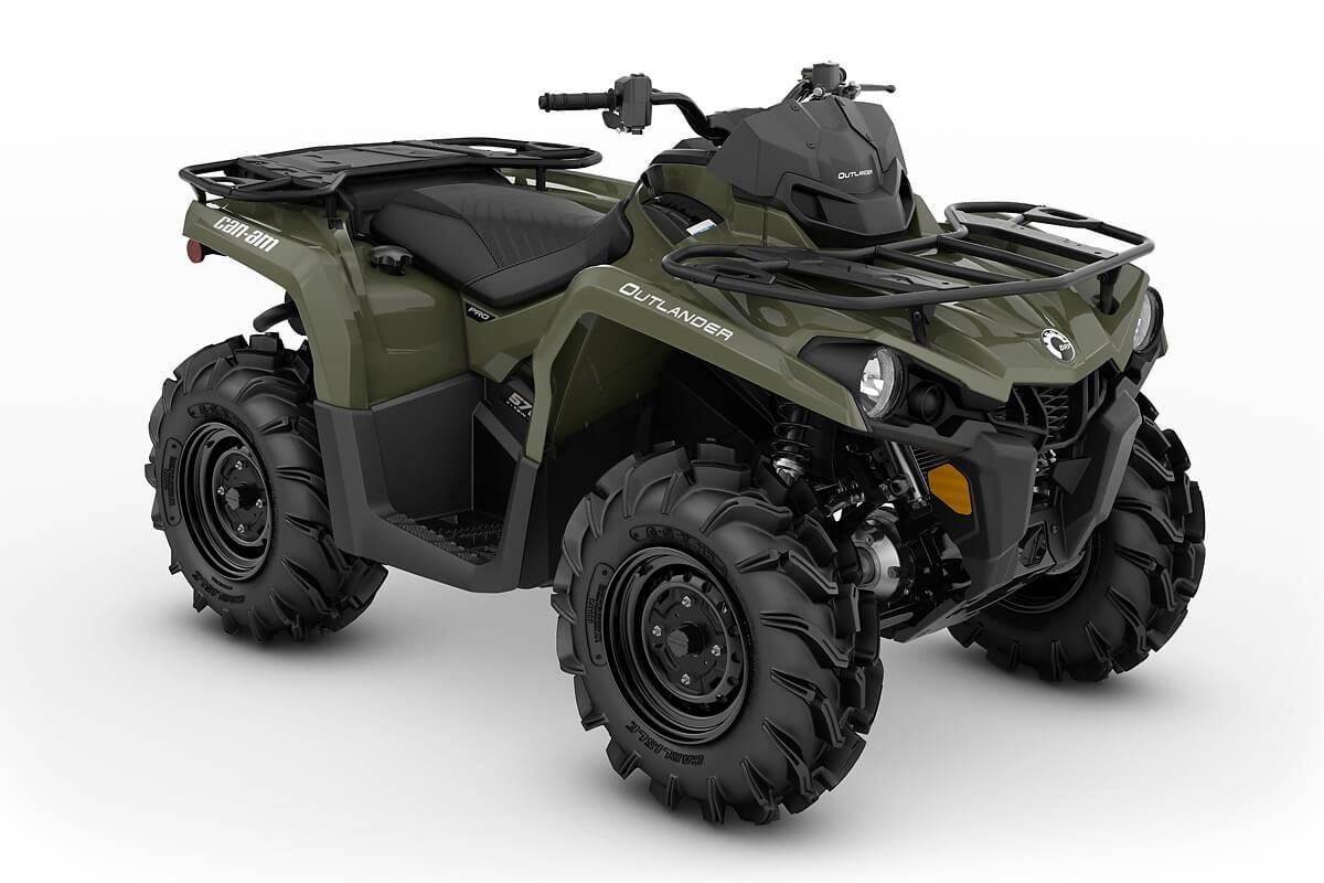 Outlander 570 PRO ein ATV in Green von Can-Am - Modelljahr 2020 - 0004JLB00