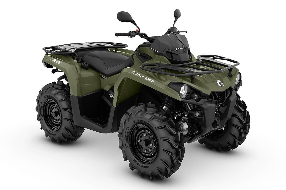 Outlander 570 PRO T ein ATV in Green von Can-Am - Modelljahr 2020 - 0004JLA00
