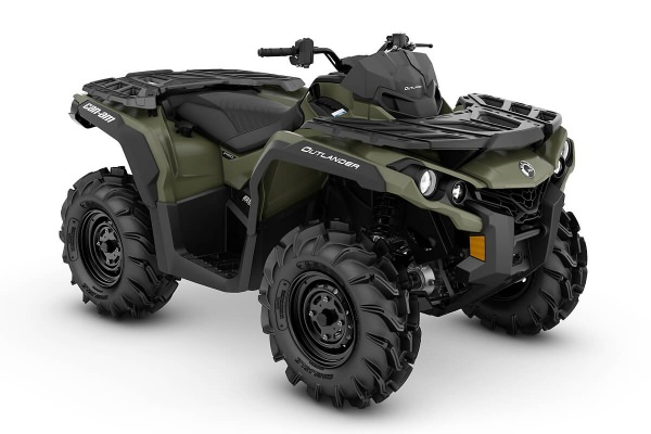 Outlander 650 PRO ein ATV in Green von Can-Am - Modelljahr 2020 - 0003PLB00