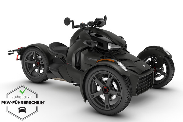 Ryker 900 ACE ein Roadster in Carbon Black von Can-Am - Modelljahr 2020 - 000F2LB00