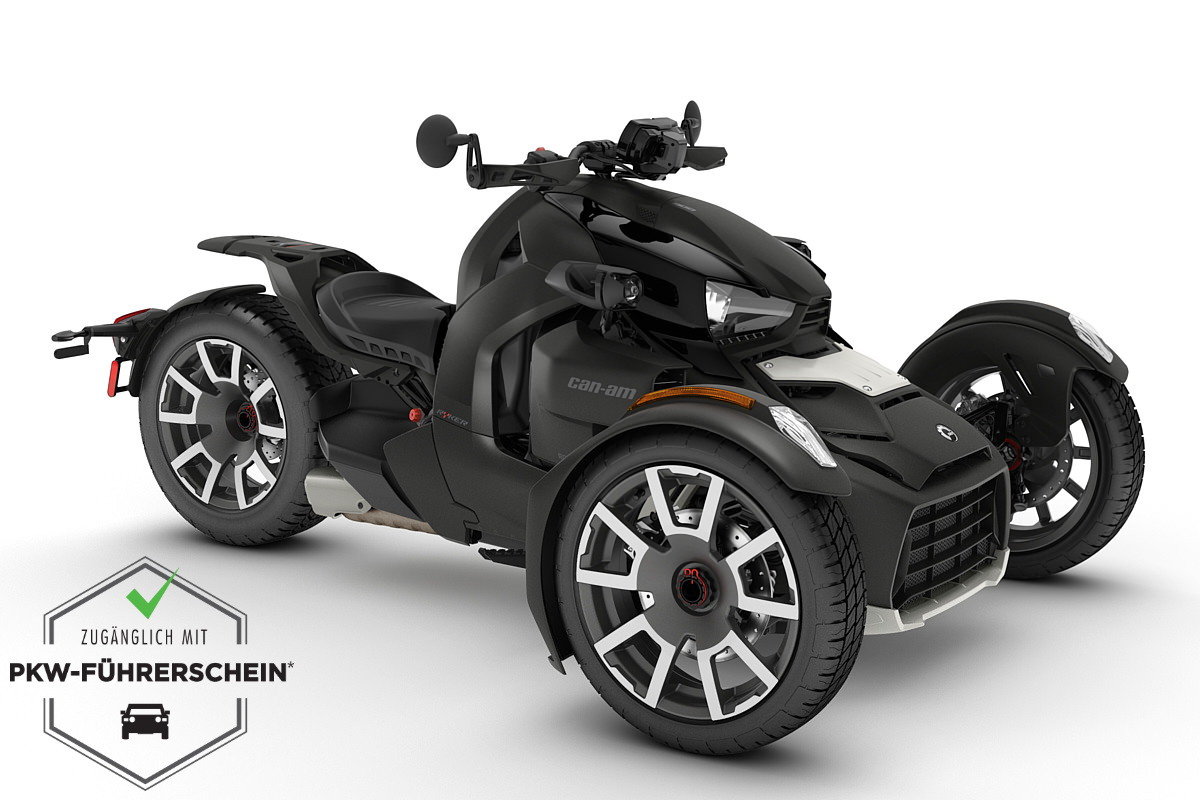 Ryker 900 Rally Edition ACE ein Roadster in Carbon Black von Can-Am - Modelljahr 2020 - 000F3LB00
