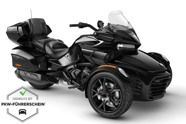 Spyder 1330 F3 Limited ACE ein Roadster in Steel Black Metallic (Dark) von Can-Am - Modelljahr 2020 - 000H8LD00