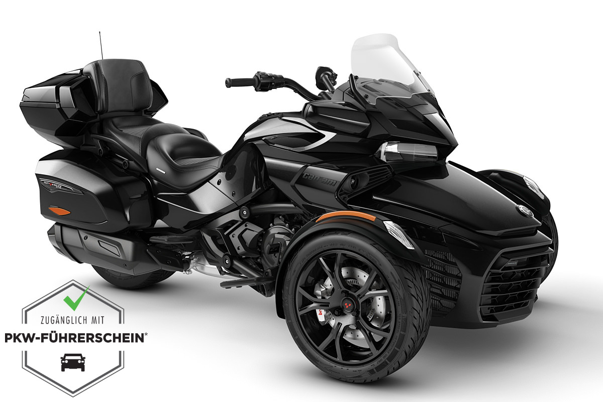 Spyder 1330 F3 Limited ACE ein Roadster in Steel Black Metallic (Dark) von Can-Am - Modelljahr 2020 - 000H8LD00