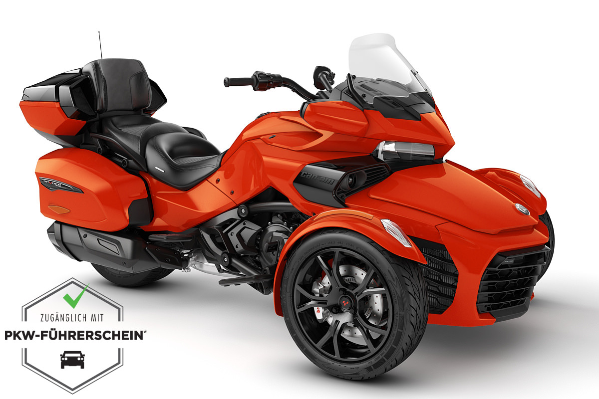 Spyder 1330 F3 Limited ACE ein Roadster in Magma Red Metallic (Dark) von Can-Am - Modelljahr 2020 - 000H8LF00