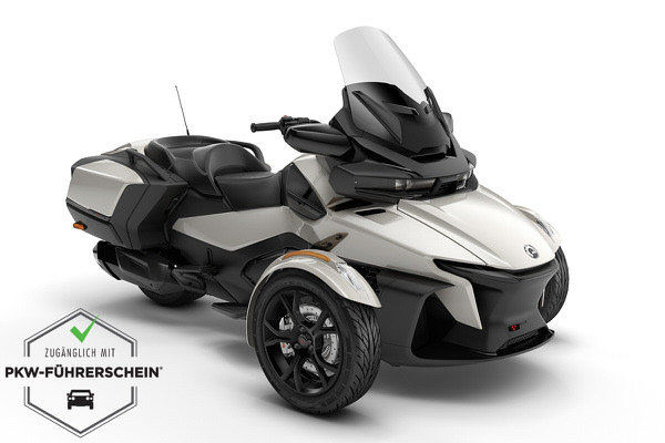 Spyder 1330 RT ACE ein Roadster in Chalk Grey Metallic von Can-Am - Modelljahr 2020 - 000B2LC00