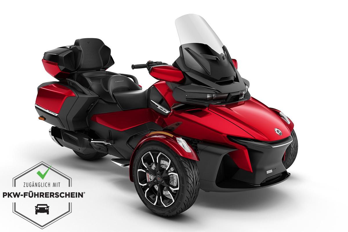 Spyder 1330 RT Limited ACE ein Roadster in Deep Marsala Red Metallic (Chrome) von Can-Am - Modelljahr 2020 - 000B9LJ00