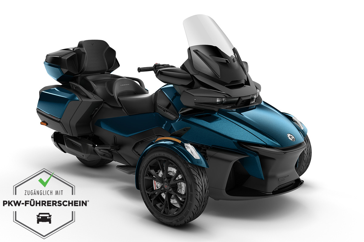 Spyder 1330 RT Limited ACE ein Roadster in Petrol Blue Metallic (Dark) von Can-Am - Modelljahr 2020 - 000G1LE00
