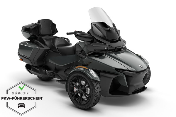 Spyder 1330 RT Limited ACE ein Roadster in Asphalt Grey Metallic (Dark) von Can-Am - Modelljahr 2020 - 000G1LK00