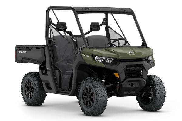 Traxter 800 DPS HD8 ein SSV in Green von Can-Am - Modelljahr 2020 - 0008ELJ00
