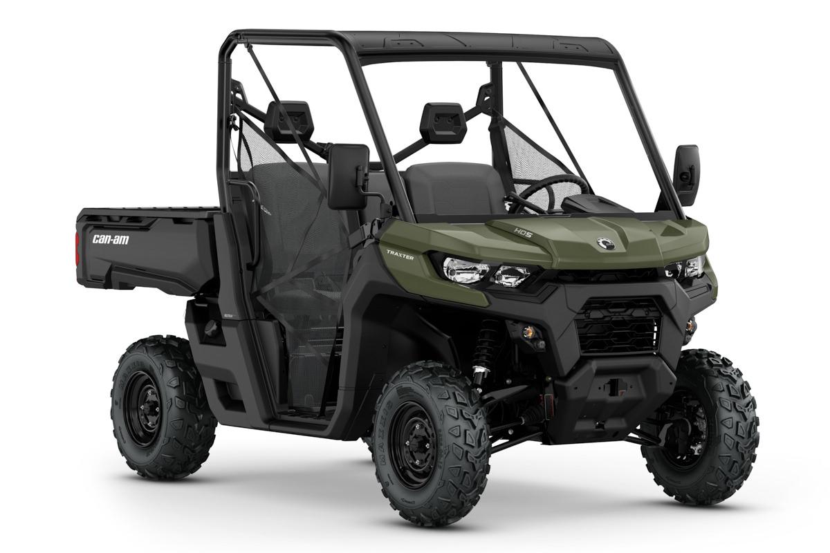 Traxter 427 HD5 T ein SSV in Green von Can-Am - Modelljahr 2020 - 0006XLD00