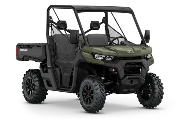 Traxter 800 HD8 T ein SSV in Green von Can-Am - Modelljahr 2020 - 0006WLE00
