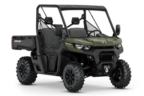 Traxter 800 PRO HD8 T ein SSV in Green von Can-Am - Modelljahr 2020 - 0006NLA00