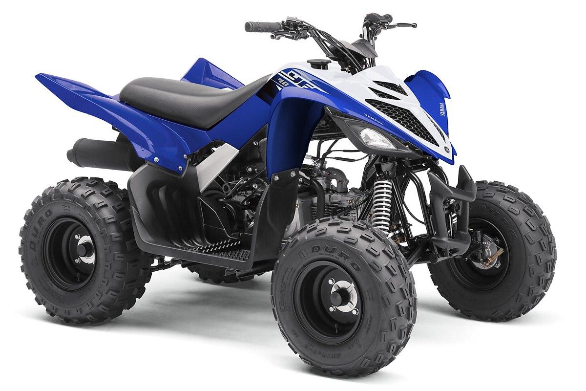 YFM 90 R ein ATV in Racing Blue von Yamaha - Modelljahr 2020 - BD3F00010E