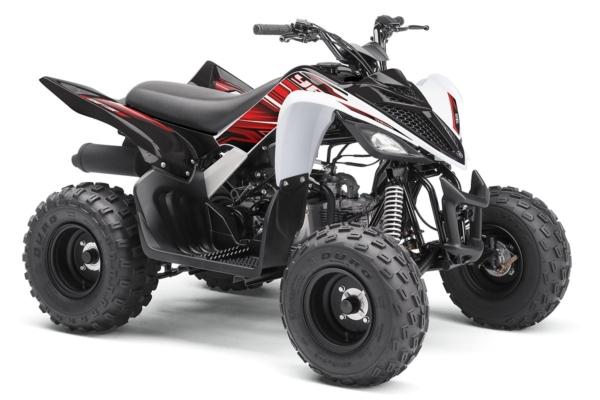YFM 90 R ein ATV in White von Yamaha - Modelljahr 2020 - BD3F00010F