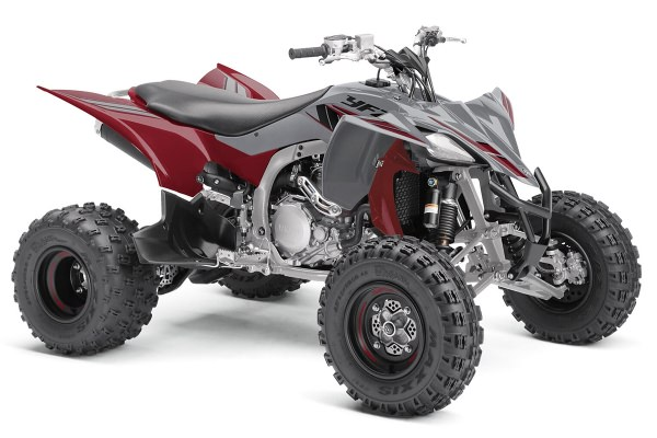 YFZ 450 R Special Edition ein ATV in Ridge Red von Yamaha - Modelljahr 2020 - BW2V00010L