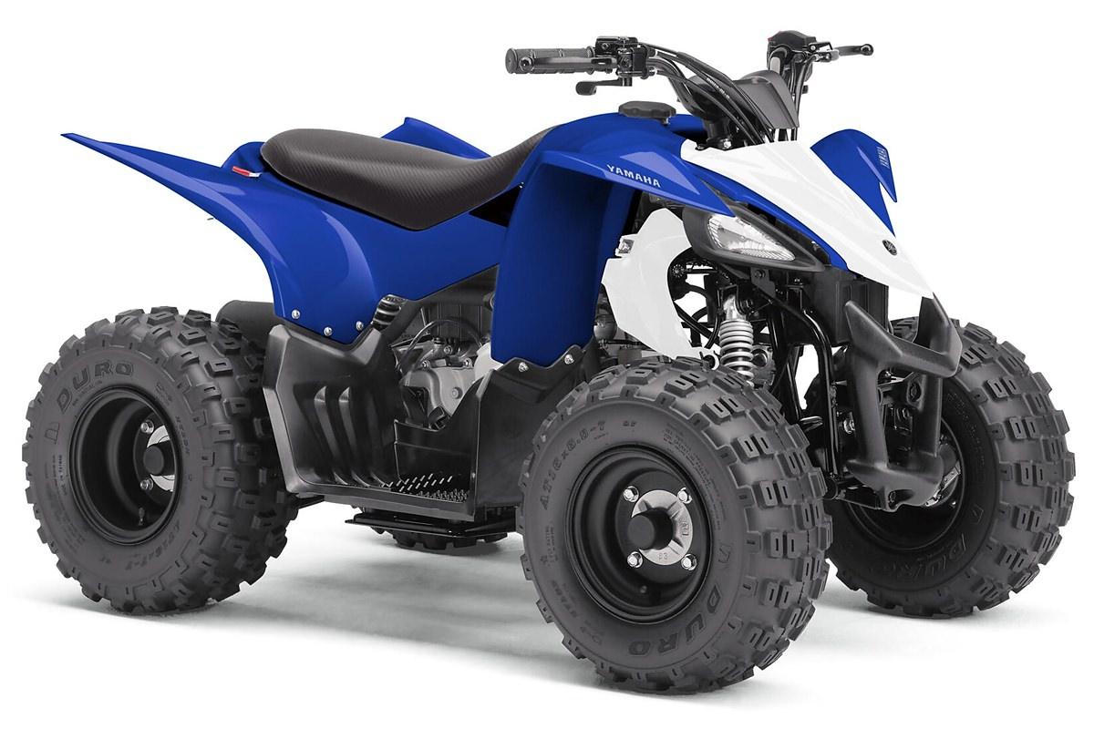 YFZ 50 ein ATV in Racing Blue von Yamaha - Modelljahr 2020 - BW4D00010E