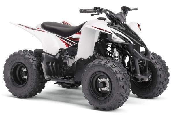 YFZ 50 ein ATV in White von Yamaha - Modelljahr 2020 - BW4D00010F