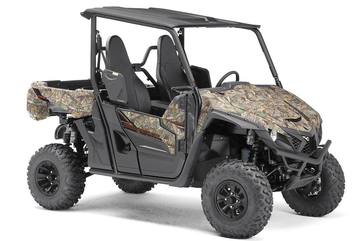 YXE 850 Wolverine X2 Alu Räder ein SSV in Camouflage von Yamaha - Modelljahr 2020 - BAN301010L