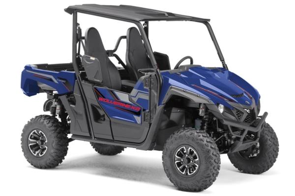 YXE 850 Wolverine X2 Alu Räder ein SSV in Yamaha Blue von Yamaha - Modelljahr 2020 - BAN700010C