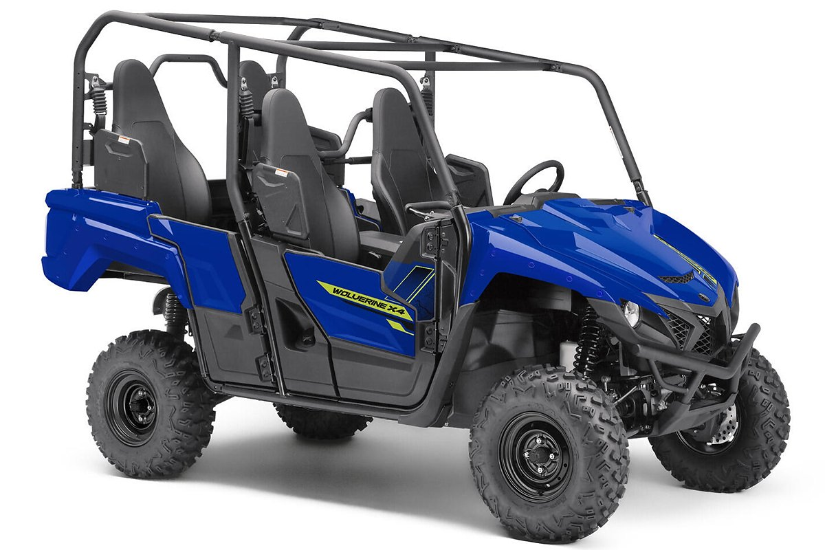 YXE 850 Wolverine X4 ein SSV in Racing Blue von Yamaha - Modelljahr 2020 - BAR701010D