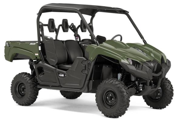 YXM 700 ein SSV in Olive Green von Yamaha - Modelljahr 2020 - B5FP01010M