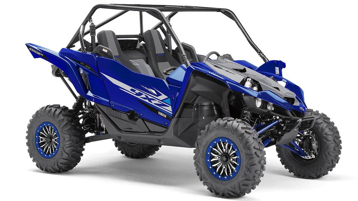 YXZ 1000 Sport Shift R Special Edition ein SSV in Racing Blue 19 von Yamaha - Modelljahr 2020 - BAS500010H