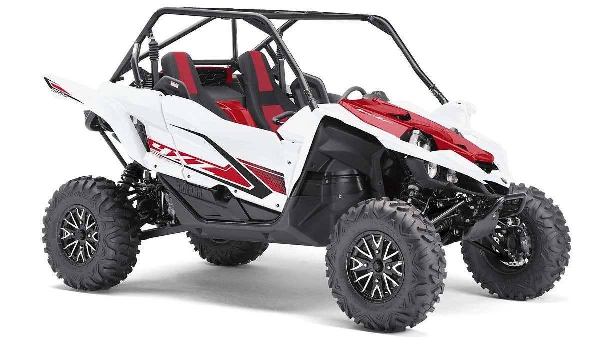 YXZ 1000 Sport Shift R ein SSV in White von Yamaha - Modelljahr 2020 - BAS700010F