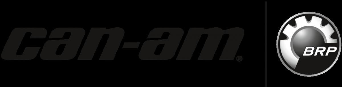 Can-Am (BRP) Logo in Schwarz und Weiß