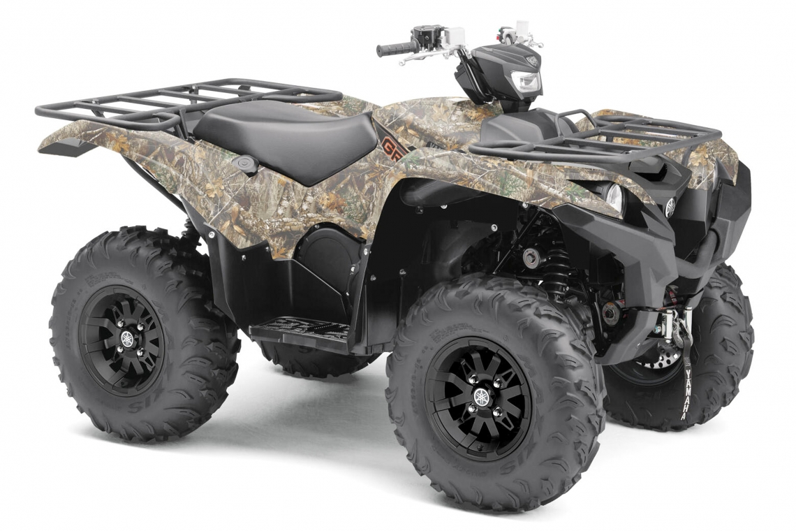 Yamaha Grizzly 700 EPS Alu Räder | ATV 2021