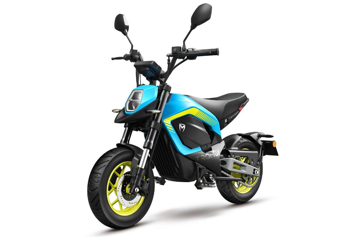 Tromox MINO Akku Mini-Bike Premium 26 Youth Blue