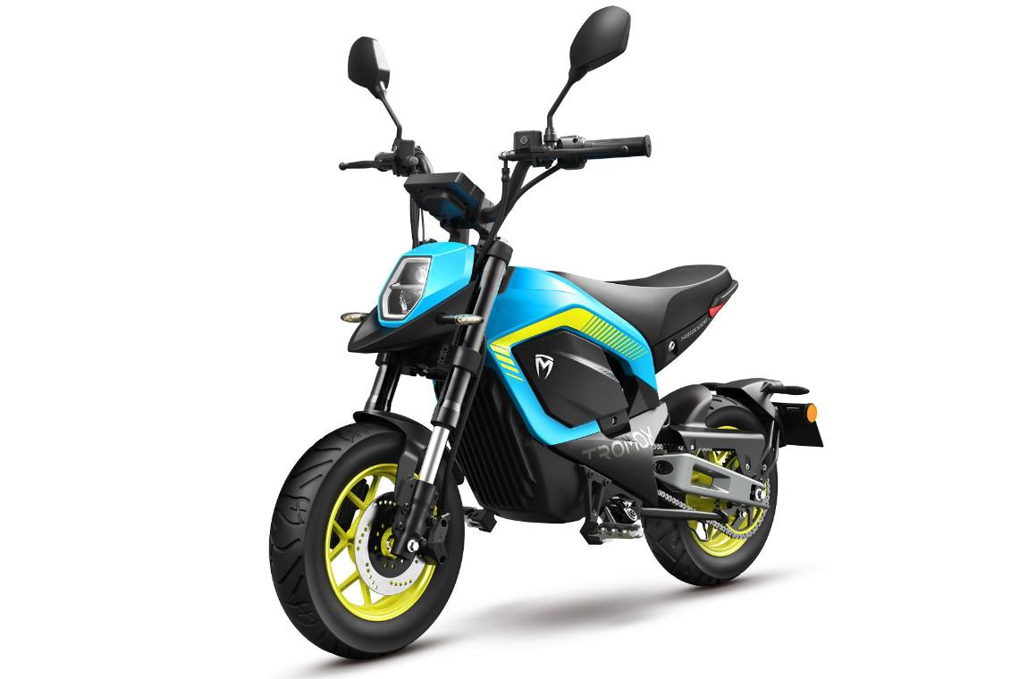 Tromox MINO Akku Mini-Bike Premium 31 Youth Blue