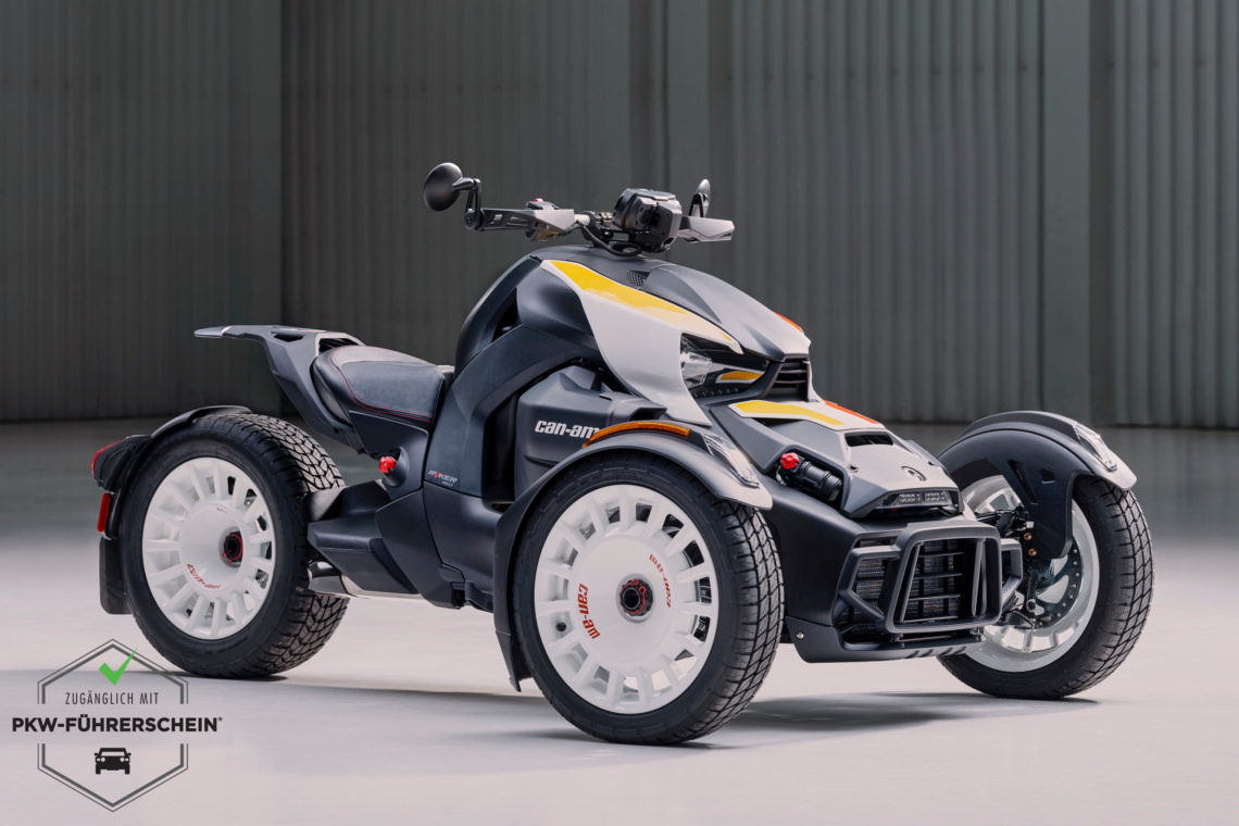 Can-Am Ryker 900 ACE Rally | Roadster 2022
