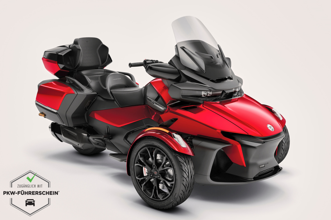 Can-Am Spyder 1330 ACE RT LTD Limited | On Road Roadster 2022