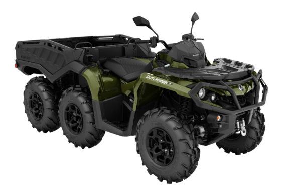 Can-Am Outlander 1000 6x6 XU+ T Side Wall | Off-Road ATV 2022
