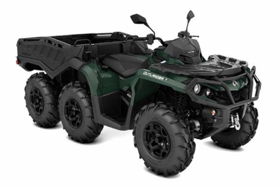 Can-Am Outlander 650 6x6 XU+ T Side Wall | Off-Road ATV 2022