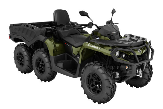Can-Am Outlander 1000 MAX 6x6 XU+ T Side Wall | Off-Road ATV 2022
