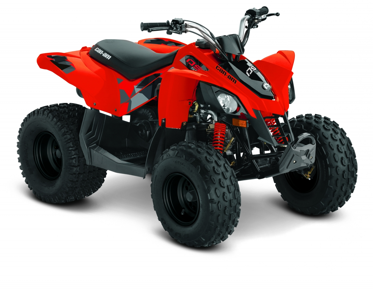 Can-Am - ATV - DS 90 - Rot - Kinderquad