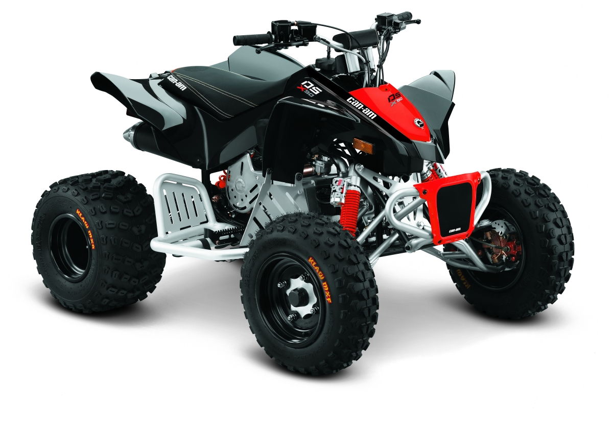Can Am ATV DS 90 Schwarz Kinderquad