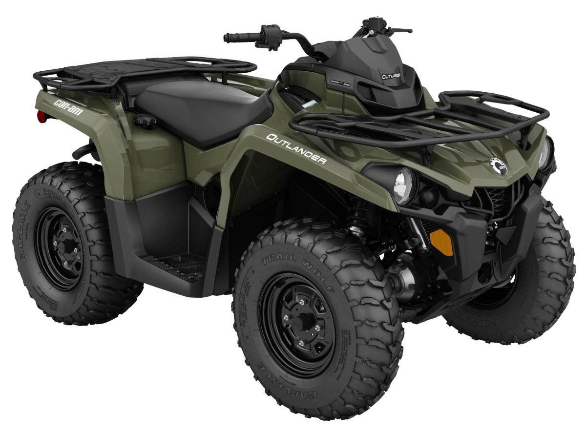 Can-Am ATV Outlander 450 Grün