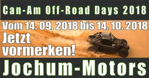 Can-Am Off-Road Days 2018 bei Jochum-Motors