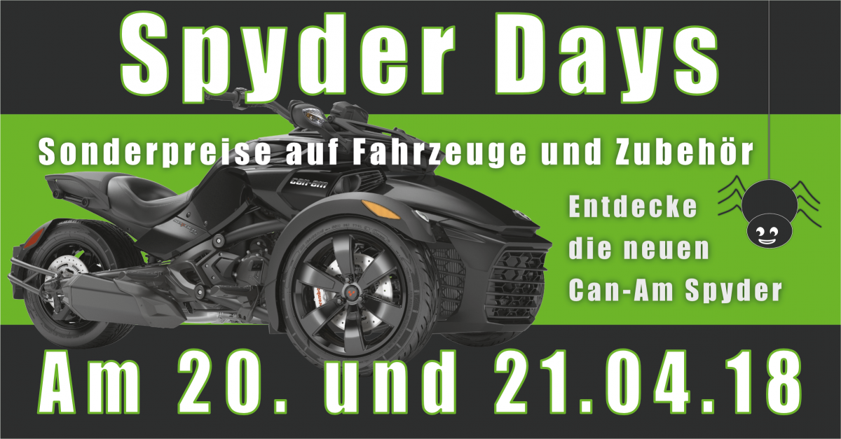 Can-Am Spyder Days bei Jochum-Motors