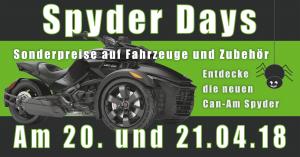 Can-Am Spyder Days bei Jochum-Motors