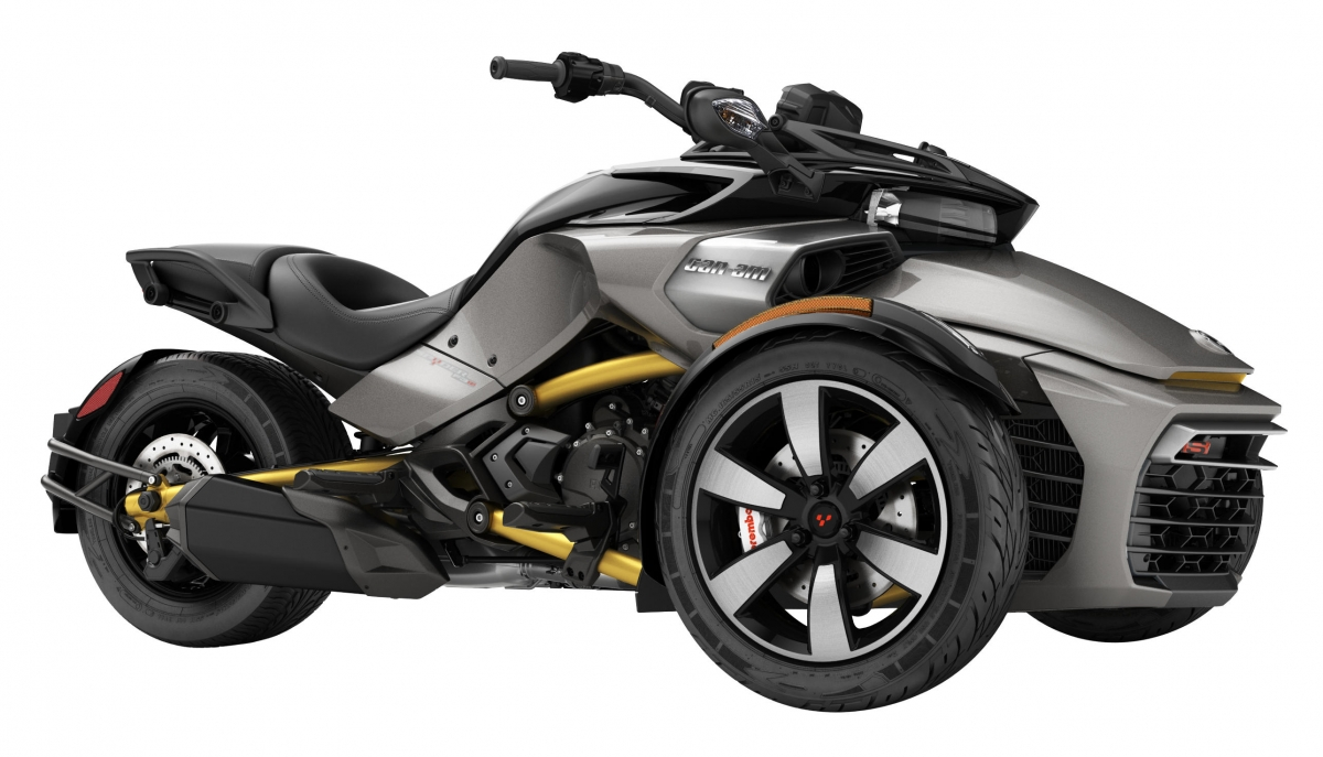 Can-Am Spyder F3 S Pure Magnesium Metallic
